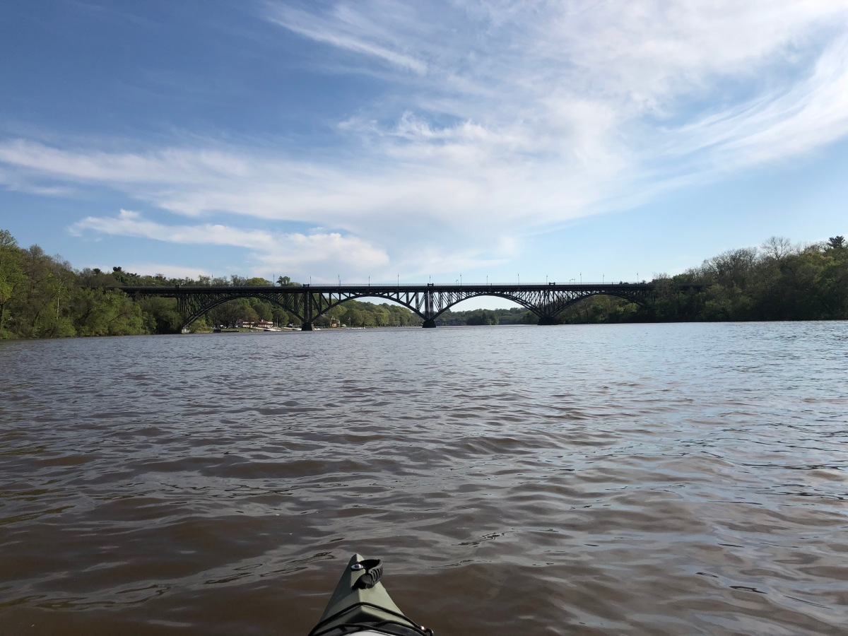 15 WITHIN 15: Kayaking the Schuylkill Off Kelly drive